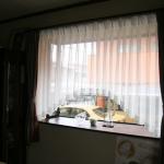 スカラップレースカーテン
